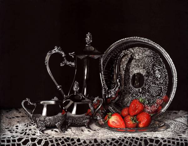 Tea and Strawberries